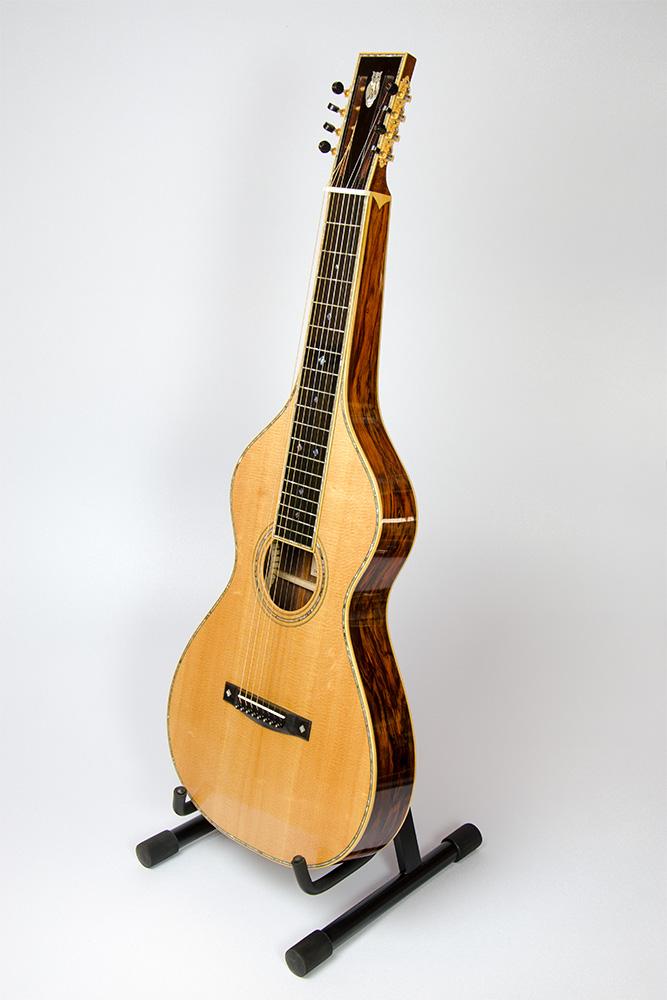 David Dart Eight-String Hawaiian Steel Guitar   Style 8   #40-225   December 2014