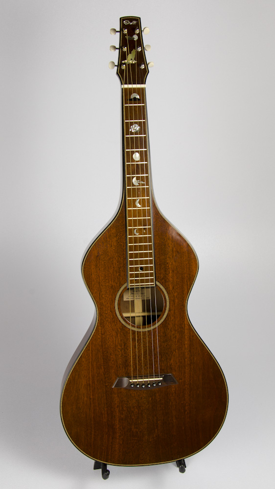 David Dart Mahogany Hawaiian Steel Guitar, Style 2