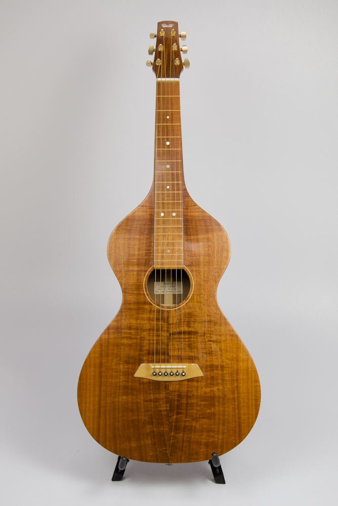 David Dart Hawaiian acoustic steel guitar, Style 1, May 1998