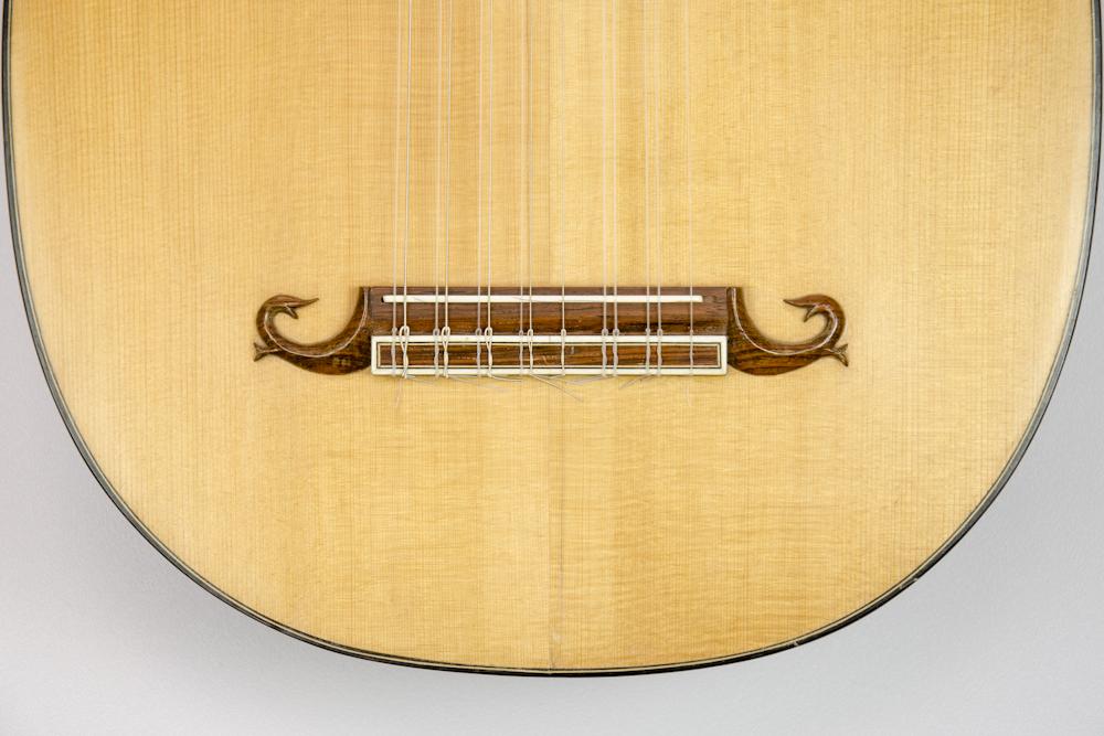 David Dart Eight-course Bass Lute, 1970