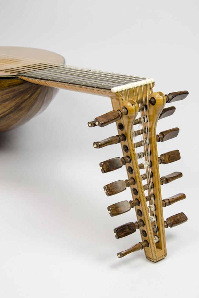 David Dart Brazilian Rosewood & Spruce Lute