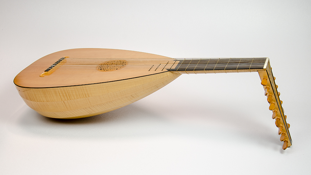 Nine-course Renaissance Lute, January 1978