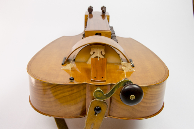David Dart Swiss Pear Hurdy-Gurdy