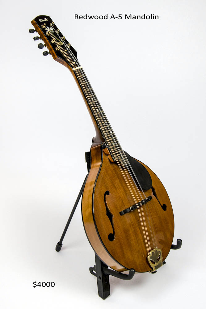 Redwood Mandolin A-5