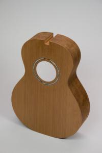 """Dart Redwood/Rosewood """"0""""-size parlor guitar"""