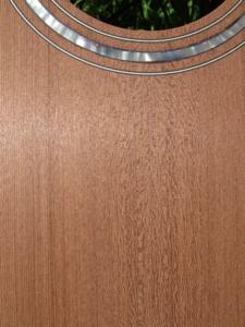 """April 2019 - redwood """"0""""-size parlor guitar top top"""